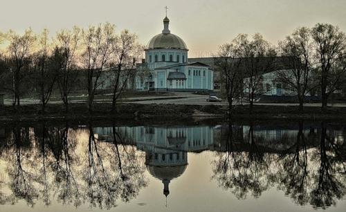 Воскресное Всенощное бдение в кафедральном соборе г. Кирова