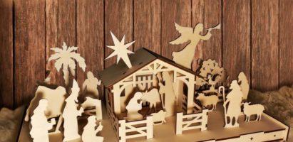 Открытие Рождественского Вертепа