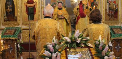 Праздничная Литургия в день празднования памяти святителя Николая, Чудотворца