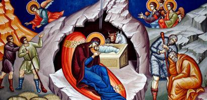 Рождество Христово. Праздничная литургия в Воскресенском храме с. Воскресенск