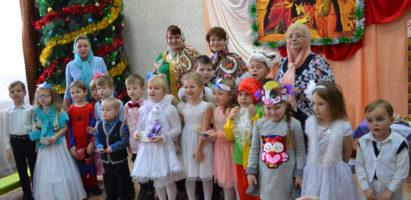 В Воскресной школе Александро-Невского кафедрального собора прошли Рождественские утренники