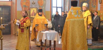 Молебное пение на Новолетие в Александро-Невском кафедральном соборе