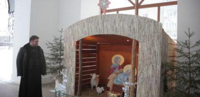 Открытие «Рождественского вертепа»