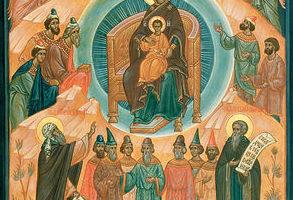 Собор Пресвятой Богородицы. Праздничное богослужение в кафедральном соборе г. Кирова