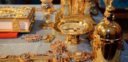Божественная литургия в день памяти преподобного Антония Великого