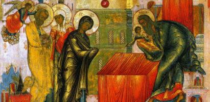 Один из 12 главных (двунадесятых) праздников Православной Церкви – Сретение Господне