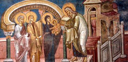 Божественная литургия в день праздника Сретения Господня