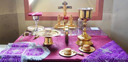 Божественная литургия в день предпразднества Благовещения Пресвятой Богородицы