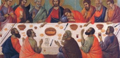 Страстная седмица. Великий Четверг. Богослужение в Александро-Невском кафедральном соборе