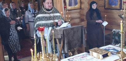 Чин выноса плащаницы Спасителя в Воскресенском храме с. Воскресенск