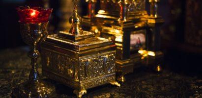 Литургия Преждеосвященных  Даров в пятницу шестой Седмицы Великого поста