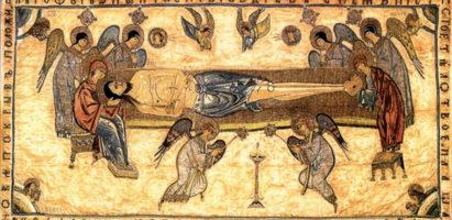 Чин выноса плащаницы Спасителя в Александро-Невском кафедральном соборе
