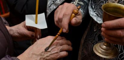 Таинство Елеосвящения (соборование) в пятую седмицу Великого поста
