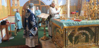 Божественная литургия в день праздника Благовещения Пресвятой Богородицы