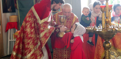 Светлое Христово Воскресение. Божественная литургия в Александро-Невском кафедральном соборе
