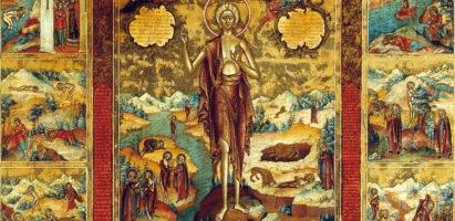 Четверток Великого канона в храме Воскресение словущее с. Воскресенск