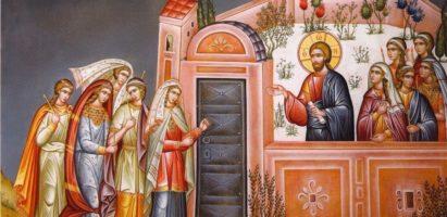 Понедельник Страстной Седмицы. Уставное вечернее богослужение в с. Воскресенск