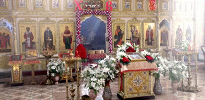 Всенощное бдение в кафедральном соборе города Кирова