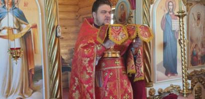 Богослужение в Воскресенском храме с. Воскресенск