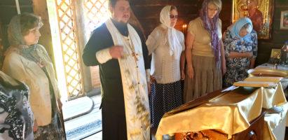 Престольный праздник отметили прихожане Иоанно-Богословского храма д. Малые Савки