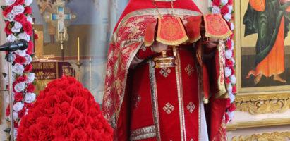 Неделя 4-я по Пасхе, о расслабленном. Богослужение в кафедральном соборе