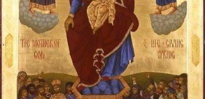 Пятница Светлой седмицы: Иконы Божией Матери «Живоносный Источник»