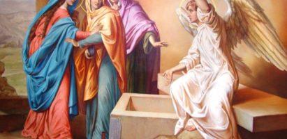 Божественная литургия в день памяти святых Жен-Мироносиц