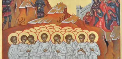 Покаянный молебен перед мощами Вифлеемских младенцев