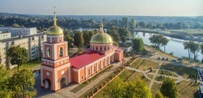 Божественная литургия в кафедральном соборе г. Кирова