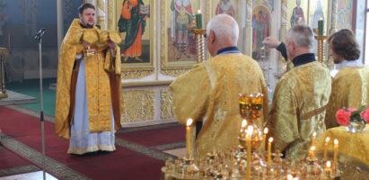 Неделя  7-я  по Пятидесятнице. Воскресная литургия в кафедральном соборе