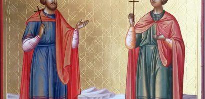 Божественная литургия в Воскресенском храме с. Воскресенск