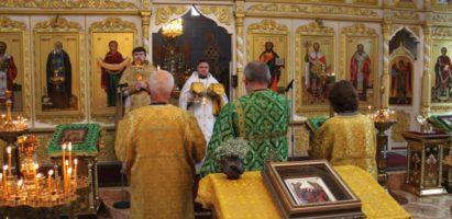 Неделя 8-я по Пятидесятнице. Воскресная литургия в кафедральном соборе