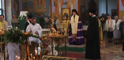 Праздничное Всенощное бдение в кафедральном соборе г. Кирова