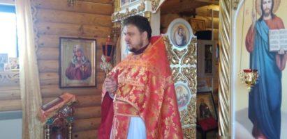 Праздничная литургия в Воскресенском храме с. Воскресенск