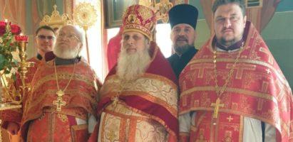 Настоятель Александро-Невского собора принял участие в торжествах по случаю дня рождения настоятеля храма Рождества Пресвятой Богородицы г. Калуги