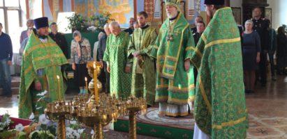 Торжества в кафедральном соборе по случаю Престольного праздника