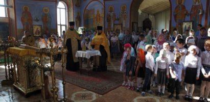 Начало учебного года в воскресной школе Александро-Невского кафедрального собора г. Кирова