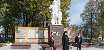 Торжественные мероприятия по случаю 73-й годовщине освобождения Кировского района от немецко-фашистских захватчиков
