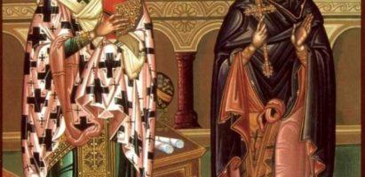 Молебен с акафистом священномученику Киприану и мученице Иустине