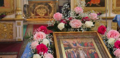 Канун празднования Покрова Пресвятой Богородицы. Всенощное бдение в кафедральном соборе г. Кирова