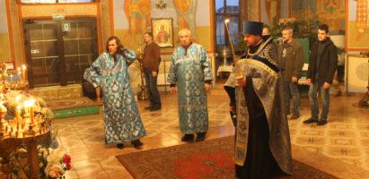 Всенощное бдение в канун праздника в честь Казанской иконы Божией Матери
