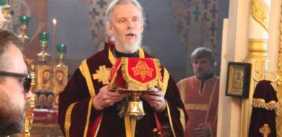 Праздничная Божественная литургия в кафедральном соборе г. Кирова