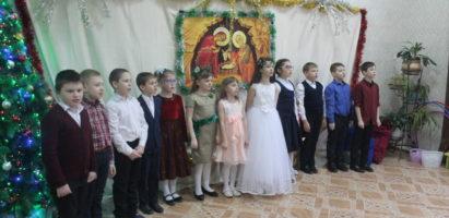 Рождественские утренники в воскресной школе Александро-Невского кафедрального собора